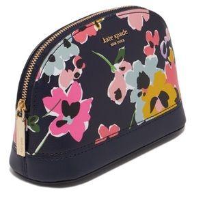 HP🎉NWT Kate Spade Sylvia Wildflower Blue Dome Bag